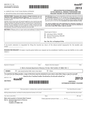 40A102 (11-13) Commonwealth of Kentucky DEPARTMENT OF REVENUE *1300010028* - revenue ky