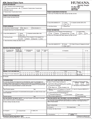 20 Printable Humana Forms Prior Authorization Templates Fillable