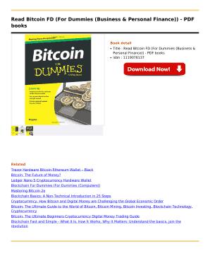 Crypto trading for dummies pdf