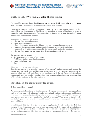 nbe guidelines for thesis writing