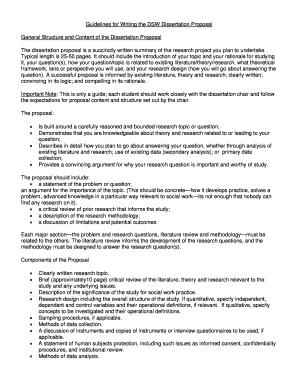 Dissertation proposal service plan