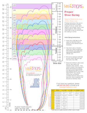 It is a photo of Gratifying Printable Shoe Size Chart Youth