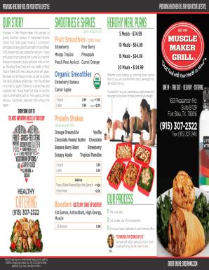 fillable menu maker free download restaurant menu templates in pdf