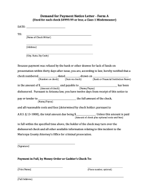 demand for payment letter editable notice of demand for payment letter fill out 11445