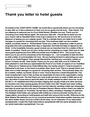 Fillable thank you letter for hotel guest sample edit online thank you letter for hotel guest sample expocarfo Gallery