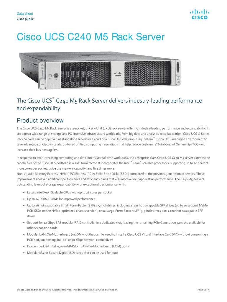 Cisco Ucs Overview