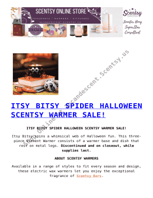 Itsy Bitsy Spider Halloween Fill Online Printable Fillable Blank
