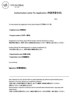 Authorization letter to submit visa application editable fillable authorization letter for application spiritdancerdesigns Images