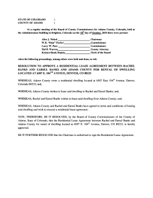Adams Residential Lease Edit Print Fill Out Download Online