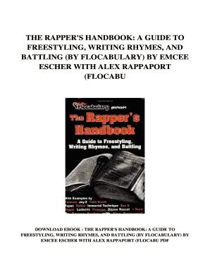 Rappers Handbook Pdf