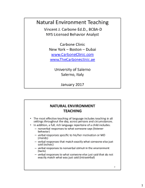 Editable Discrete Trial Lesson Plan Template Fill Out Print - University lesson plan template