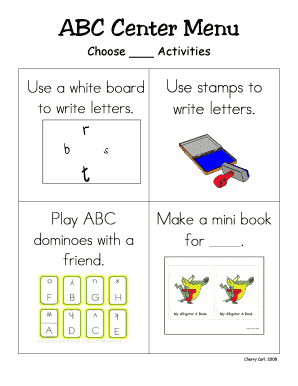 Editable abc chart with pictures pdf - Fill Out, Print