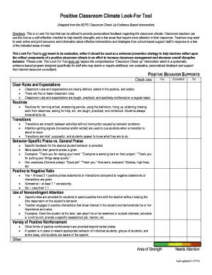 teachers feedback form