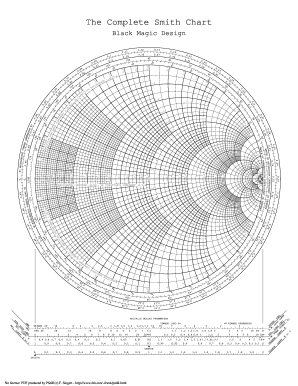 Editable zy smith chart black magic pdf fill print download d load the complete smith chart black magic designjx z oco mp on en t rea ct an ce d load towar gths len e v wa resistance componentrzo or conductance ccuart Image collections