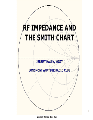 Editable impedance and admittance smith chart pdf fill print rf impedance and ccuart Image collections