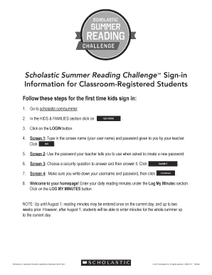 scholasticsummer 2017 - Forms & Document Samples to Submit