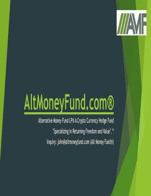 cryptocurrency fund ppm