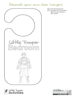 print your own door hangers