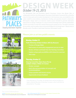 The Minneapolis Park and Recreation Boards Downtown Service Area Master Plan, in