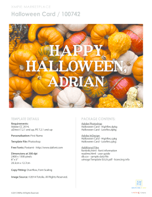 printable free halloween flyer template edit fill out download