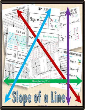Fillable Slope Intercept Form Word Problems Answer Key Edit Online