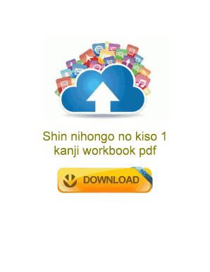 kanji workbook pdf to Download - Editable, Fillable