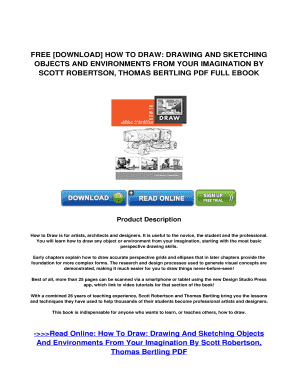 Fillable Online PDF Download How To Draw: Drawing And Sketching