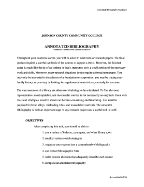 example of mla annotated bibliography