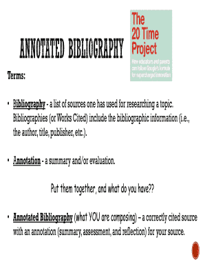 mla 8 annotated bibliography