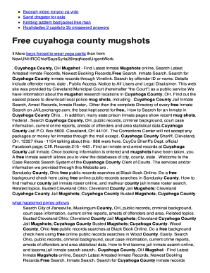cecil county mugshots - Fillable & Printable Top Forms to Download