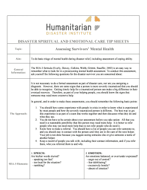 Printable Mental Health Assessment Questions Templates To Submit