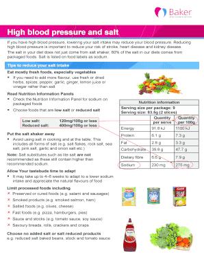 high blood pressure log sheet