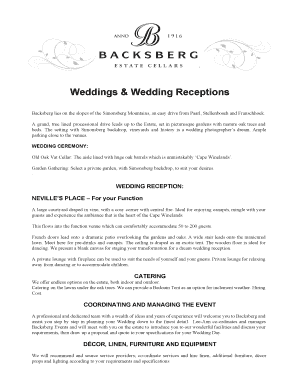 reception program