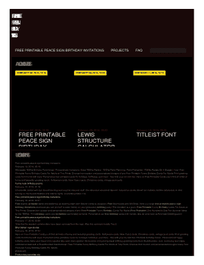 Editable Free Printable Birthday Invitation Templates For Adults