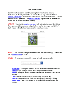 quizlet solubility - Fill Out Online, Download Printable Templates