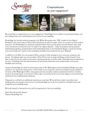 Printable Modern Wedding Reception Timeline