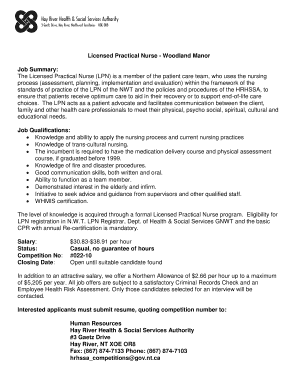 Licensed Practical Nurse   Woodland Manor  Lpn Skills For Resume