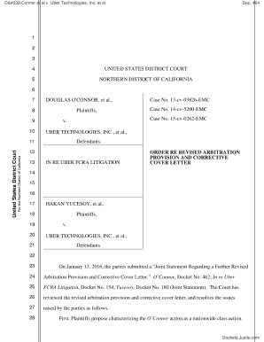 Uber Driver Partner Agreement Editable Fillable Printable Legal