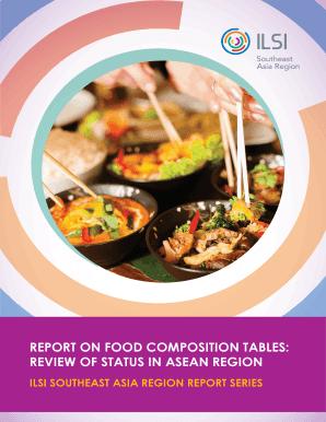 food nutrition database download excel fillable printable online