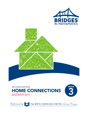 Printable bridges home connections grade 5 answer key - Fill