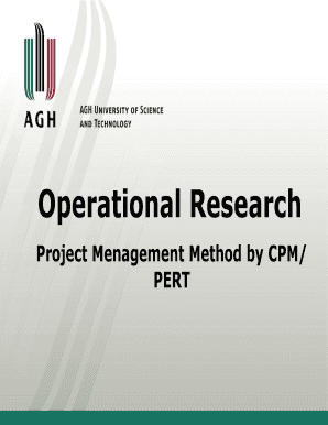cpm and pert pdf nptel - Fill, Print & Download Online
