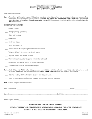 nys opt out letter 2017 2018   Fill Out Online Forms Templates