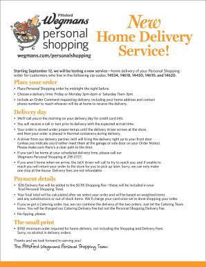 delivery order excel