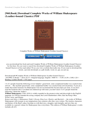 Download complete works of william shakespeare (knickerbocker classic….