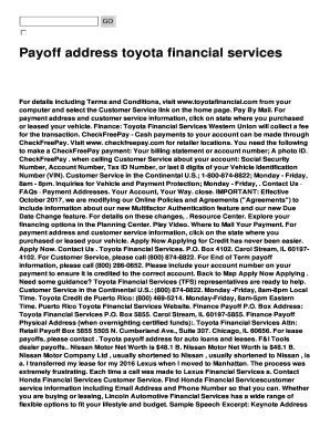 Honda Financial Services Payoff Phone Number To Download Editable