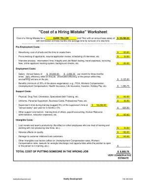 Fillable bank teller jobs salary - Edit, Print & Download