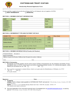 Editable Membership Renewal Email Template Fill Out Print Forms