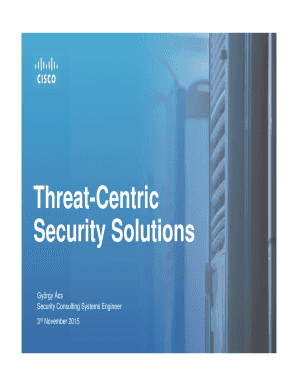 Threat-Centric