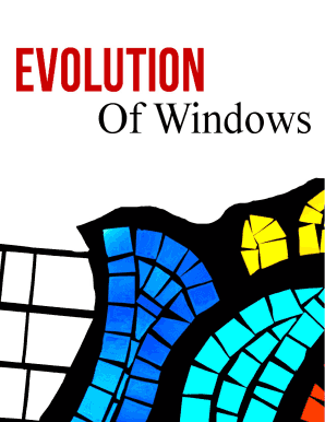 Welcome To The Evolution Of Windows