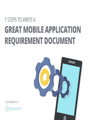 Mobile App Requirements Document Fill Out Online Download